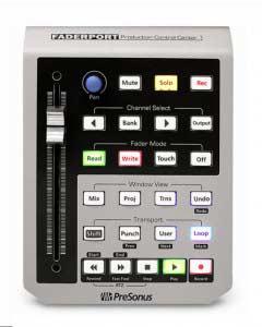 کارت صدا ٔusb با کنترلر صدای Presonus FaderPort موسیقی خود را لمس کنید