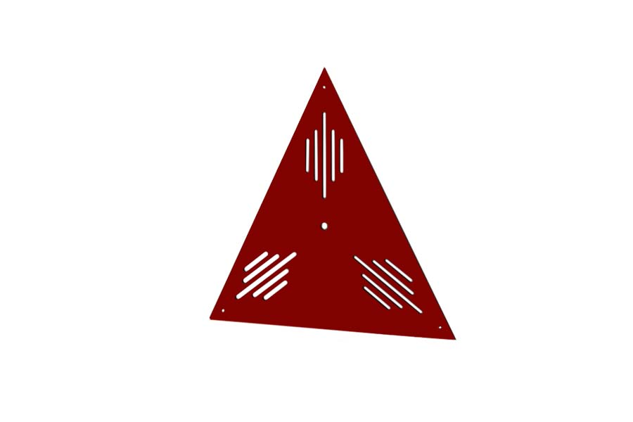 sedabardaran-bass-trap-triangle-mini-red