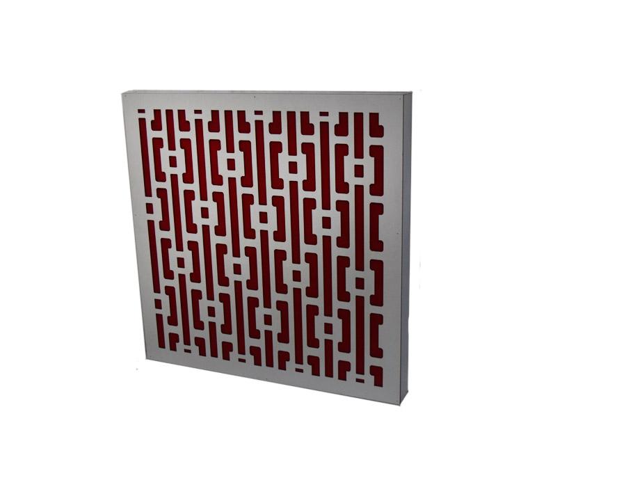 sedabardaran-absorbe-square-60-WR-صدا-برداران-ابزورب-اسکوئر-۶۰-سفید-قرمز