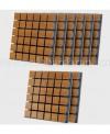 پکیج ابزورب چوبی قهوه ای a50