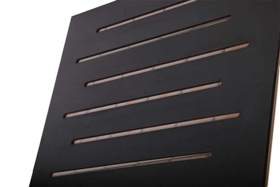 تجهیزات آکوستیک ابزورب وری پنل مشکی Sound absorbing Vari Panel Black 60