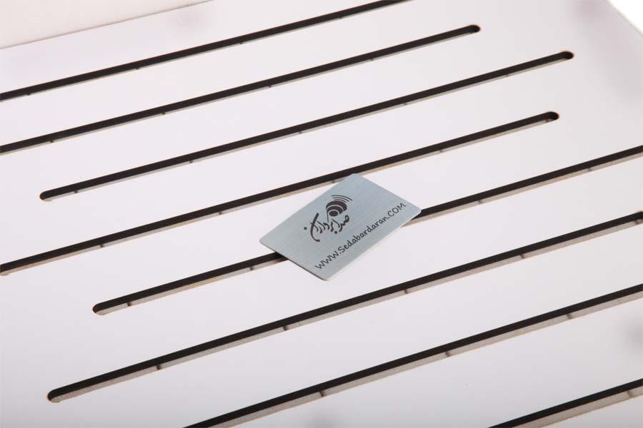 تجهیزات آکوستیک ابزورب وری پنل سفید  Sound absorbing Vari Panel White 60