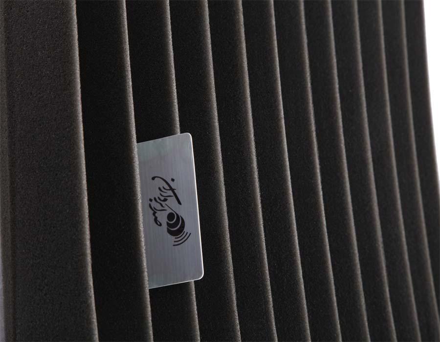 تجهیزات آکوستیک پنل ابزورب کرکره ای Sound absorbing Panel MD Light Alpha 50