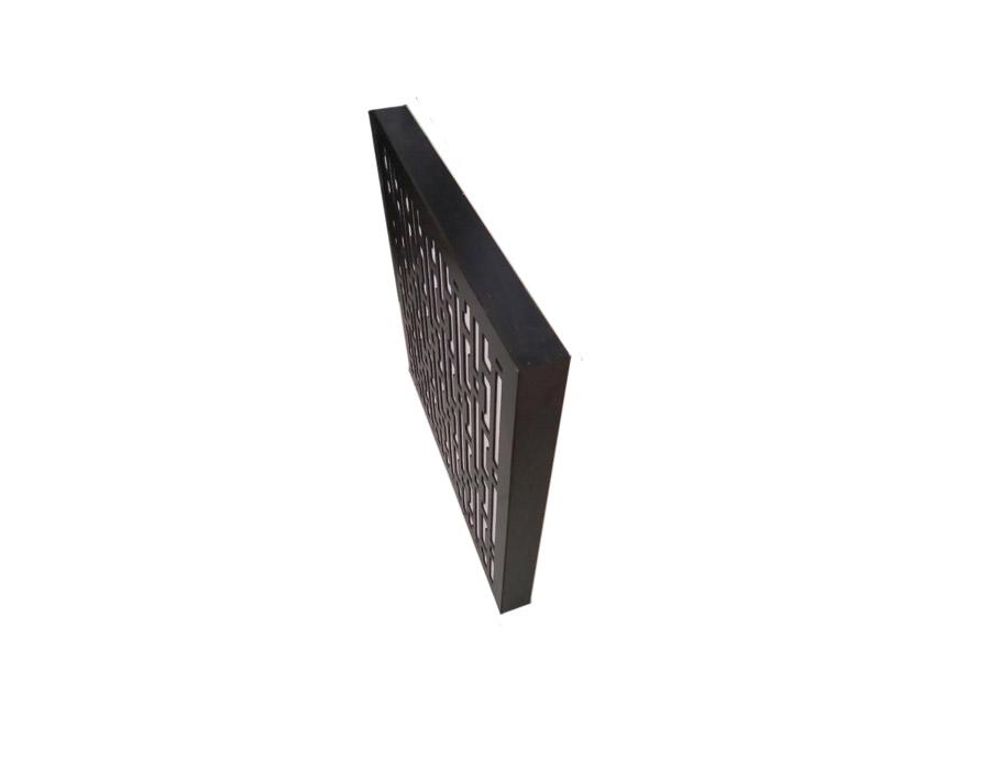 تجهیزات آکوستیک ابزورب هندسی مشکی سفید Sound absorbing geometric BW 60