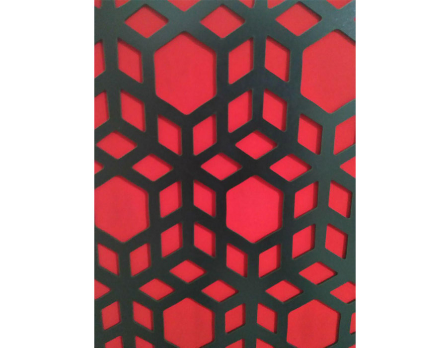 تجهیزات آکوستیک ابزورب اسلامی مشکی قرمز Sound absorbing Islamic BR 120