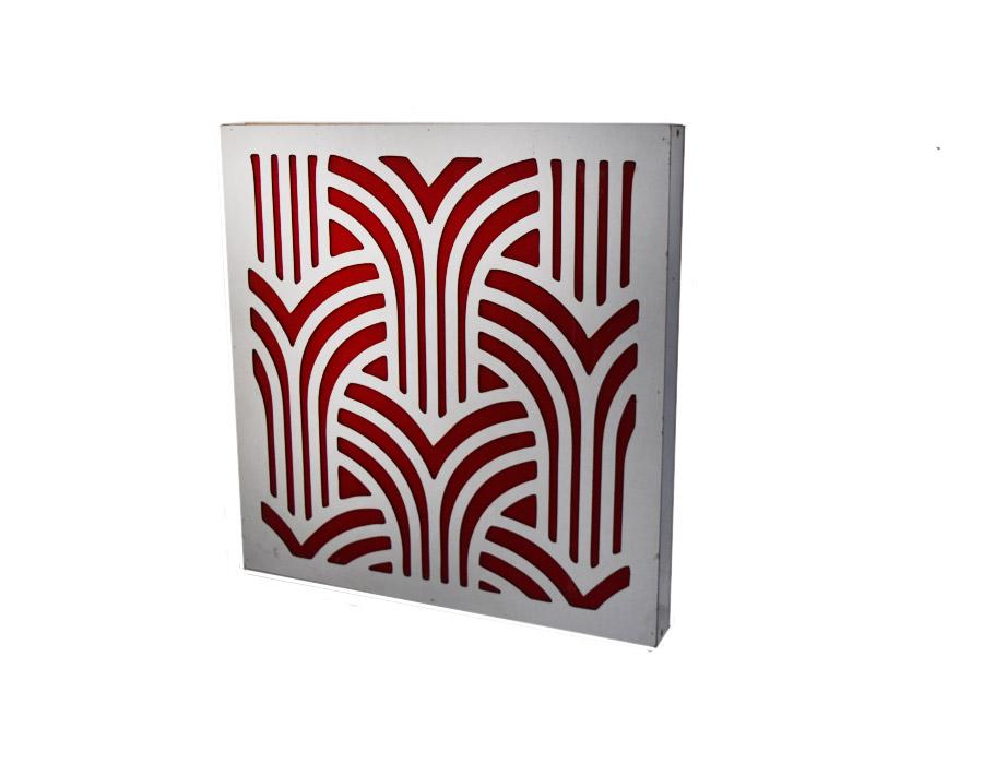 sedabardaran-absorb-arches-60-WR-صدابرداران-ابزورب-کمانی-۶۰-سفید-قرمز
