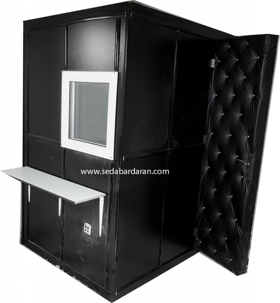 اتاقک ثابت آکوستیک سایز بزرگ 210 * 240 * 180 سانتیمتر
