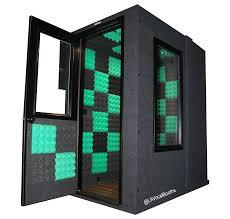 اتاقک ثابت آکوستیک سایز وسط 210 * 180 * 120 سانتیمتر