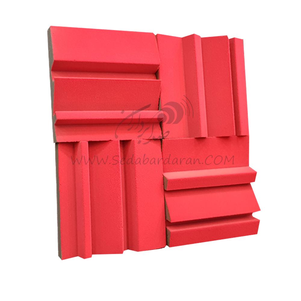 تجهیزات آکوستیک پنل رنگی 50*50 Absorbtion MD55