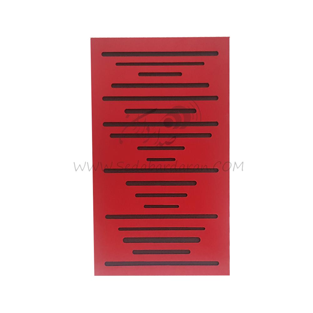 تجهیزات آکوستیک بیس ترپ موجی قرمزwavewood basstrap red