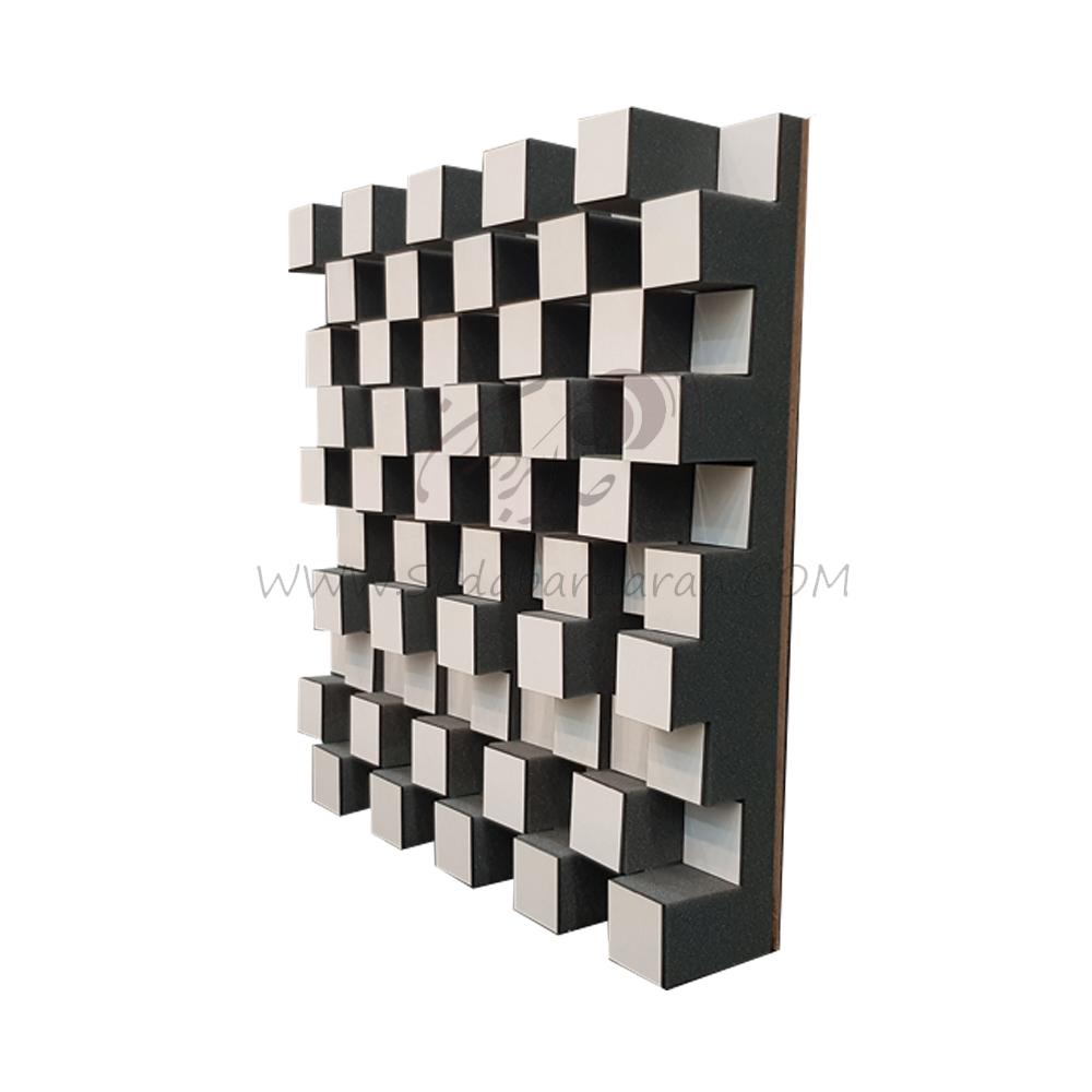 تجهیزات آکوستیک دیفیوزر روکش چوب سفید diffuser DC2 wood white