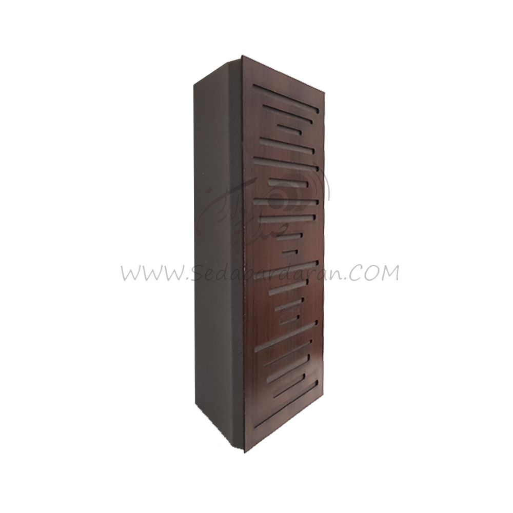 تجهیزات آکوستیک بیس ترپ موجی قهوه ای wavewood basstrap brown