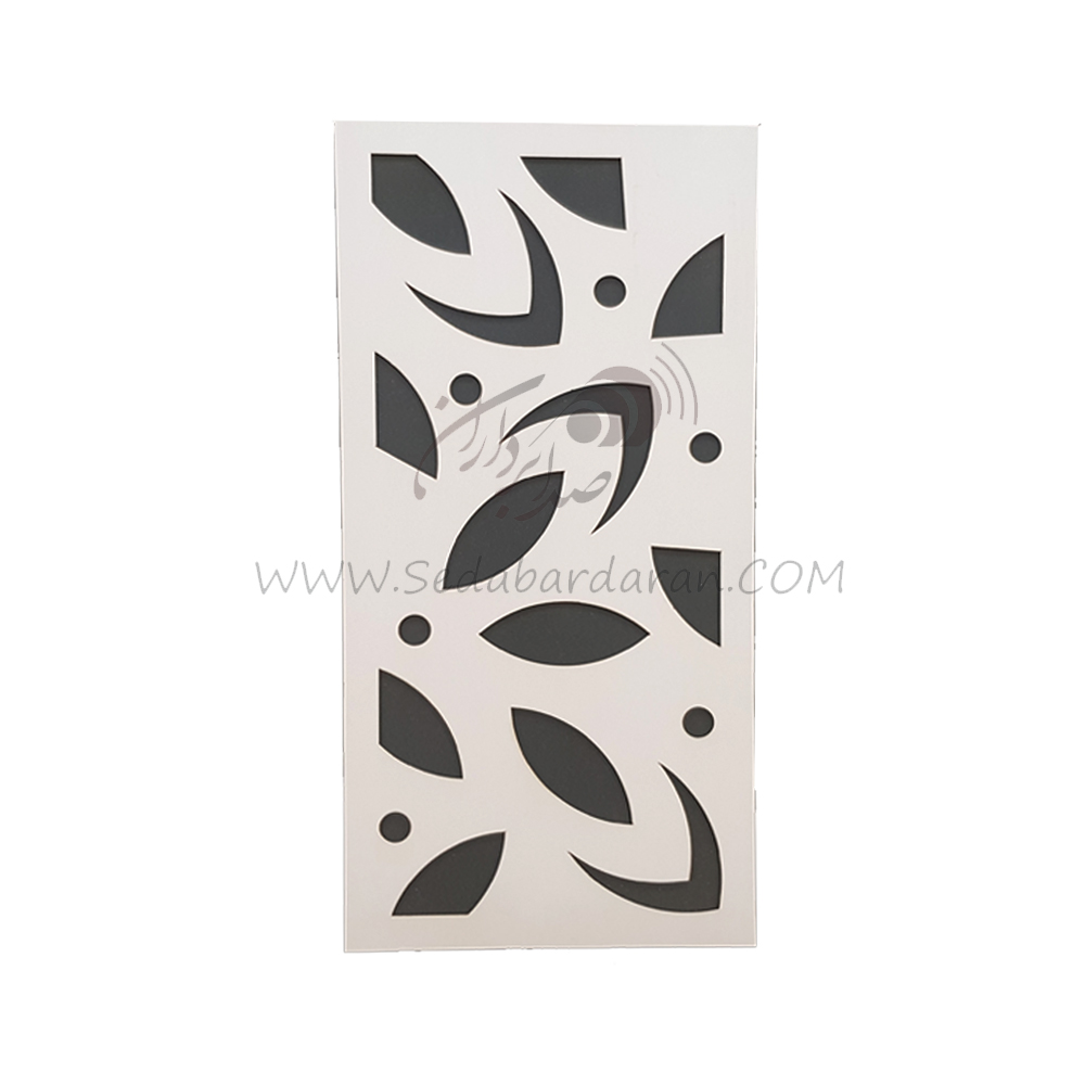 تجهیزات آکوستیک اَبزورب گلبرگی سفیدabsorbtion flower white