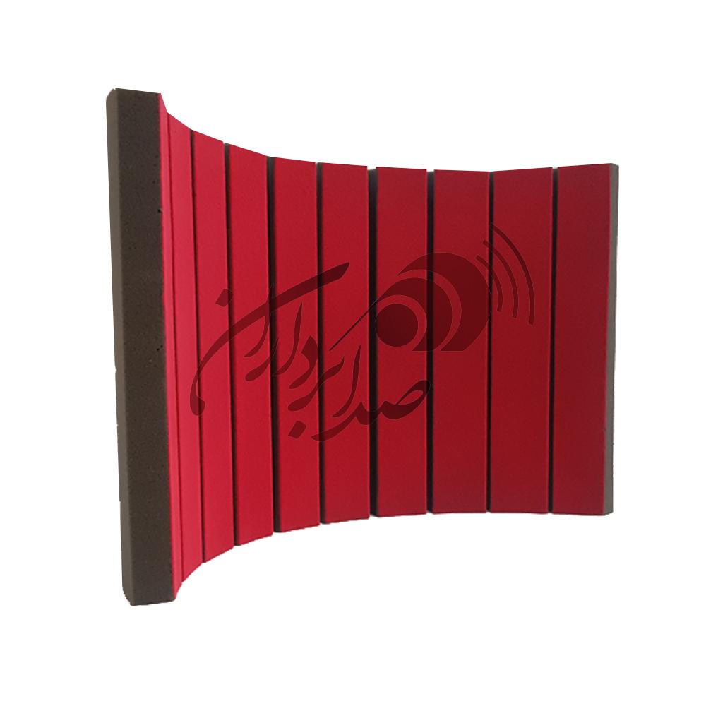 پنل دور میکروفنی قرمزflexi screen red
